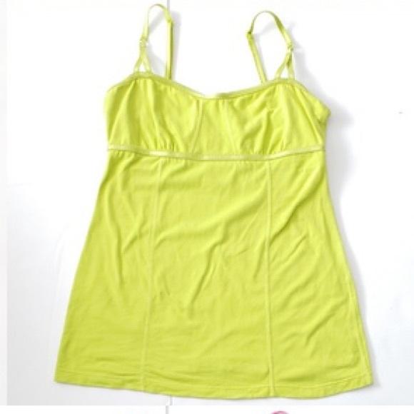 ❤️ Lululemon Ariel tank in bright yellow